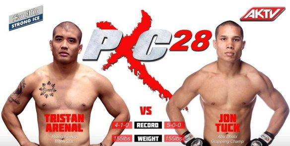 PXC 28: Tristan Arenal vs Jon Tuck
