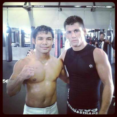 Joe Taimanglo and Dominick Cruz - Photo by guamsportsnetwork.com