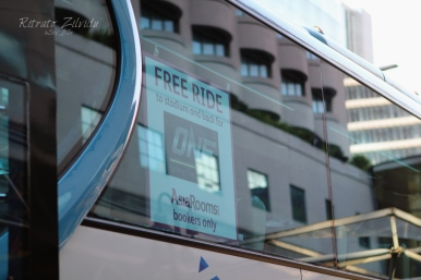 Free Bus Ride to and from the OneFC event venue