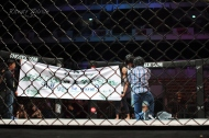A Marriage proposal inside the ONE FC Cage