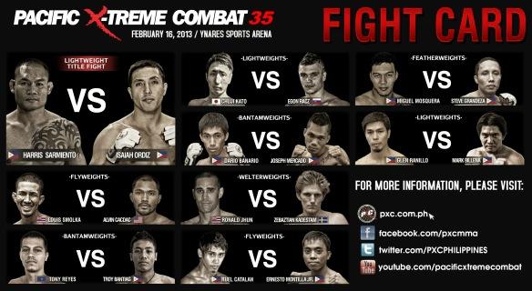 pxc 35 fight card