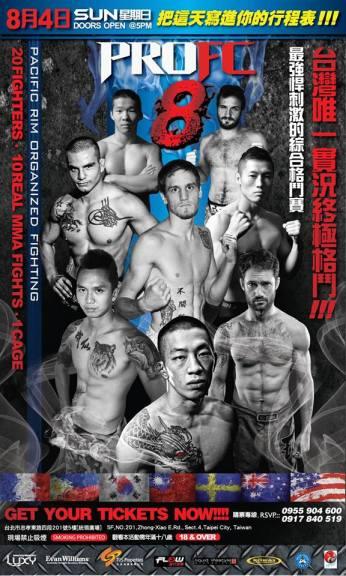 Pro fighting 8